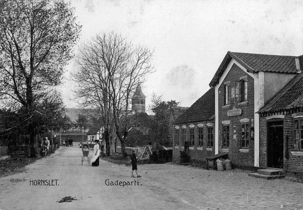Gadeparti Hornslet 1910