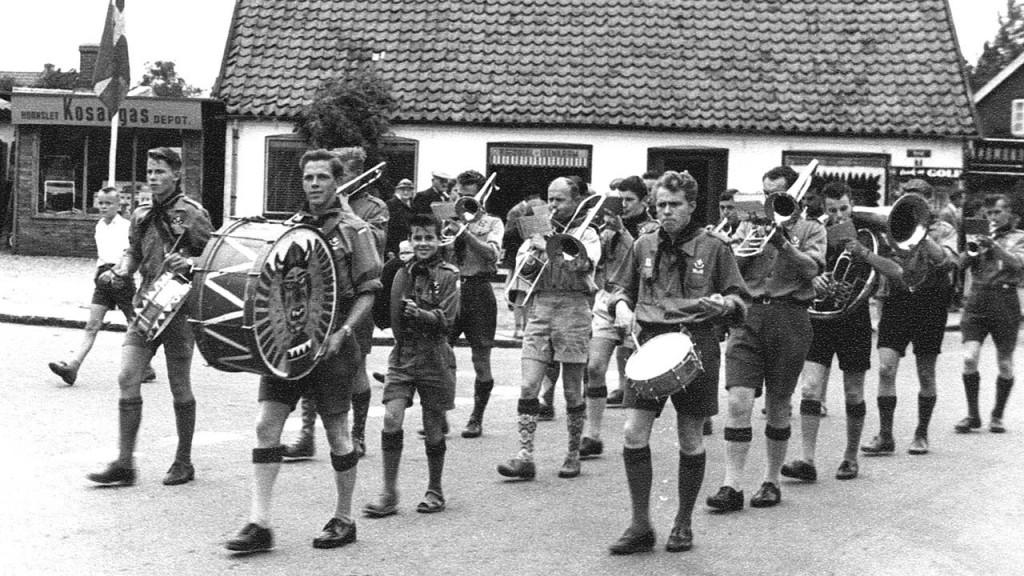 Spejderliv i Hornslet 1961-1965